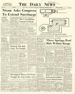 Huntingdon Daily News newspaper archives