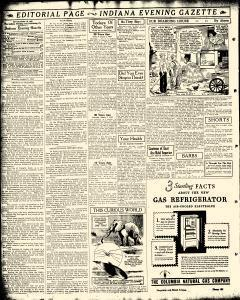 Indiana Evening Gazette, August 07, 1933, Page 4