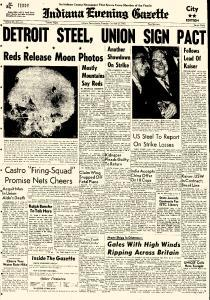 Indiana Evening Gazette, October 27, 1959, Page 1