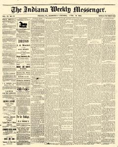 Indiana Weekly Messenger, April 18, 1883, Page 1