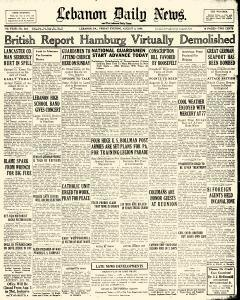 Lebanon Daily News, August 02, 1940, Page 1