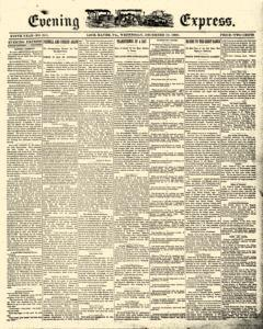 Lock Haven Express, December 10, 1890, Page 1
