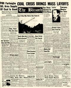 Blizzard, February 23, 1950, Page 1