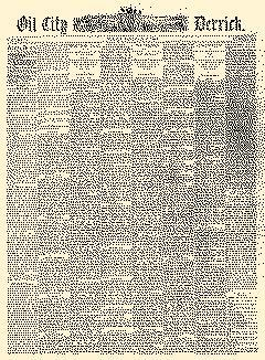 Derrick, February 06, 1885, Page 1