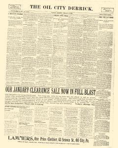 Derrick, January 10, 1899, Page 1