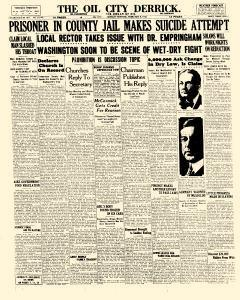 Derrick, February 08, 1926, Page 1