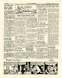 Checkerboard, March 31, 1943, Page 6