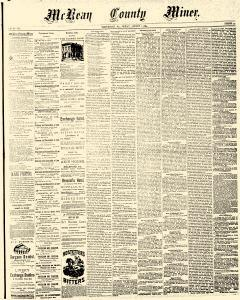 Mckean County Miner, August 01, 1884, Page 1