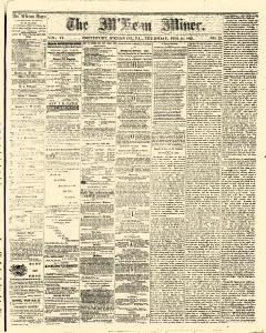 Smethport Mckean Miner, February 11, 1869, Page 1