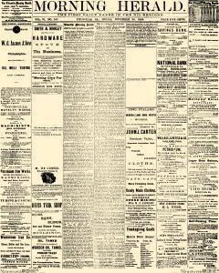 Titusville Herald, November 26, 1869, Page 1