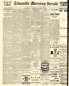 Titusville Herald, April 04, 1888, Page 1