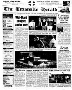 Titusville Herald , October 08, 2004, Page 1