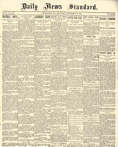 Daily News Standard, November 02, 1901, Page 1