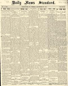 Daily News Standard, November 25, 1901, Page 1