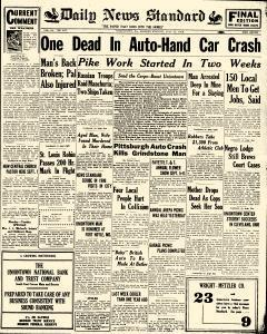 Daily News Standard, July 22, 1929, Page 1