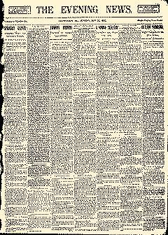 Uniontown Evening News, May 22, 1893, Page 1