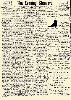 Uniontown Evening Standard, February 16, 1889, Page 1