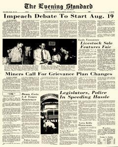 Uniontown Evening Standard, August 02, 1974, Page 1