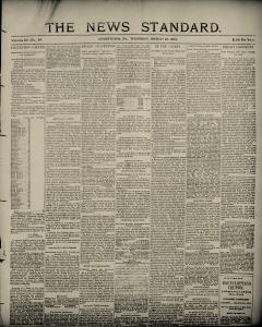 Uniontown News Standard, March 22, 1894, Page 1
