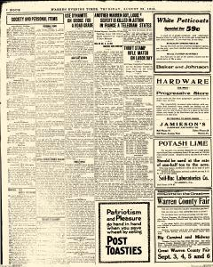 Warren Evening Times, August 29, 1918, Page 4