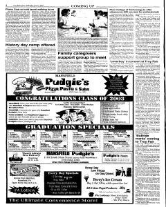 Wellsboro Gazette, June 11, 2003, Page 20