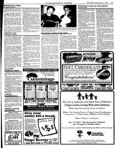 Wellsboro Gazette, June 11, 2003, Page 27