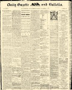 Daily Gazette And Bulletin, November 14, 1873, Page 1
