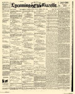 Williamsport Lycoming Daily Gazette, May 04, 1868, Page 1