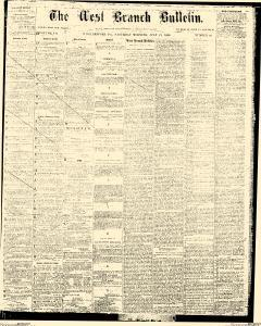 Williamsport West Branch Bulletin, July 21, 1866, Page 1