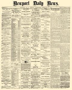 Newport Daily News, February 06, 1874, Page 1