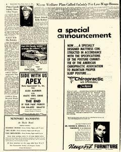 Newport Daily News, August 15, 1969, Page 4