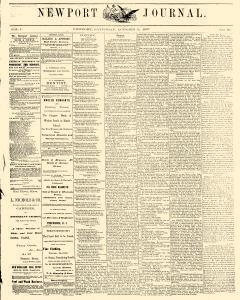 Newport Journal, October 05, 1867, Page 1