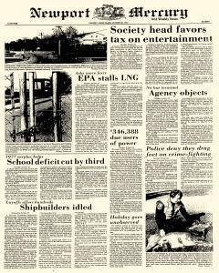 Newport Mercury And Weekly News, October 28, 1977, Page 1