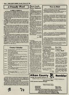 Aiken County Rambler, February 25, 1982, Page 5