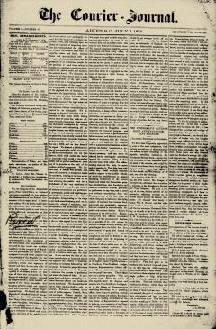 Aiken Courier Journal, July 01, 1876, Page 1