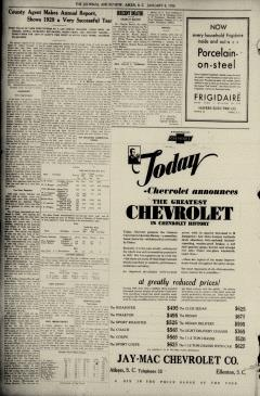 Aiken Journal and Review, January 08, 1930, Page 4