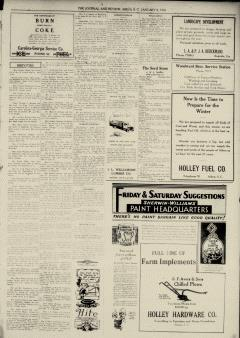 Aiken Journal and Review, January 08, 1930, Page 5