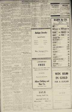 Aiken Journal and Review, April 09, 1930, Page 5