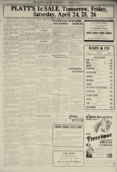 Aiken Journal and Review, April 23, 1930, Page 5