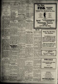Aiken Journal and Review, May 07, 1930, Page 6