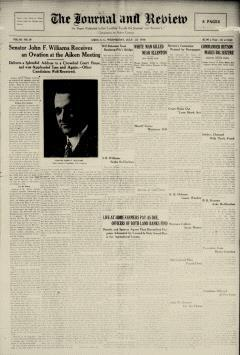Aiken Journal And Review, July 23, 1930, Page 1