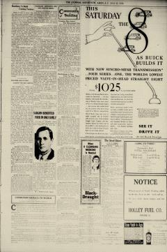 Aiken Journal and Review, July 23, 1930, p. 3
