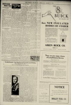Aiken Journal and Review, August 13, 1930, Page 7