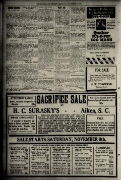 Aiken Journal and Review, November 12, 1930, Page 2