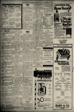 Aiken Journal and Review, November 26, 1930, p. 2
