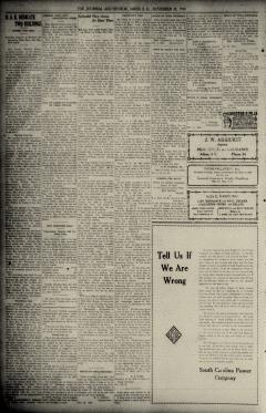 Aiken Journal and Review, November 26, 1930, p. 8