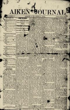 Aiken Journal, June 06, 1874, Page 2
