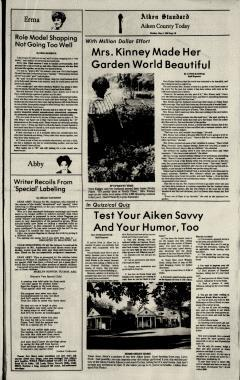 Aiken Standard, May 05, 1980, Page 22