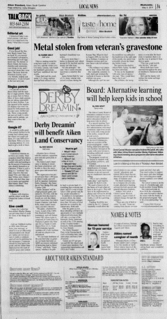 Aiken Standard, May 04, 2011, Page 3