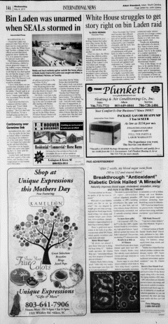 Aiken Standard, May 04, 2011, Page 14